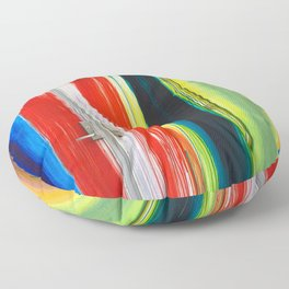 Colors of Brickell Floor Pillow