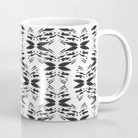 totem Mugs featuring Totem by Eva Bellanger