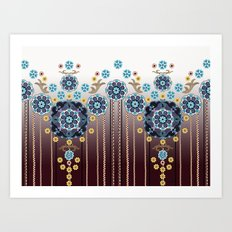 Folk Festival Art Print