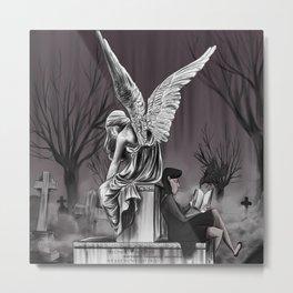 Graveyard Metal Print