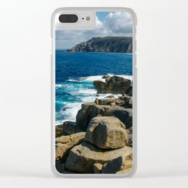 Torndirrup and West Cape Howe National Parks, Albany, Western Australia Clear iPhone Case