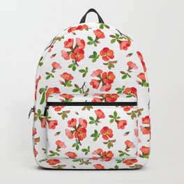Quince Blossoms Backpack