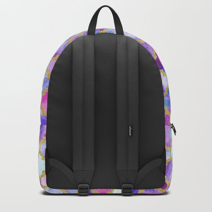 Magenta Moroccan Backpack