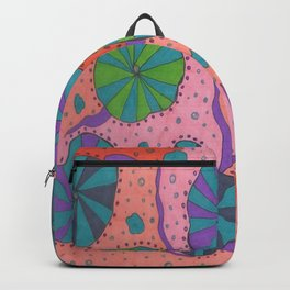 Funky Retro Vibes Backpack