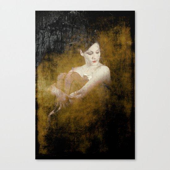 """Circus Performer"" Canvas Print"
