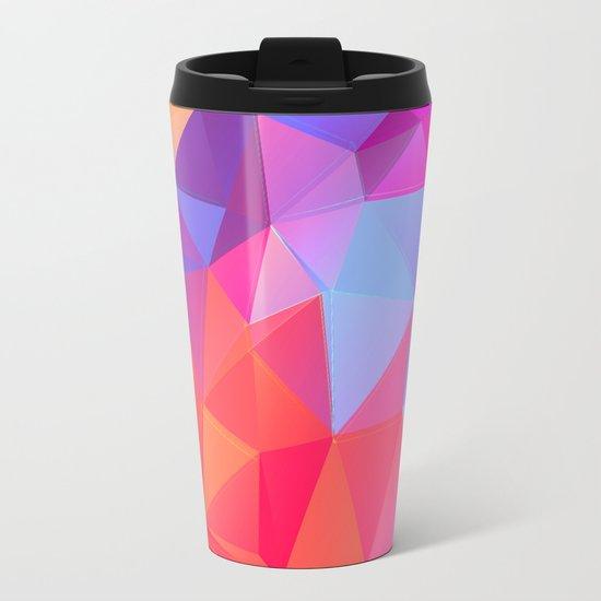 Vertices 8 Metal Travel Mug