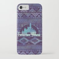 forever young iPhone & iPod Cases featuring forever young by Sara Eshak