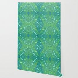 Green Abstract Bright Pattern 1 Wallpaper