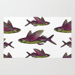 Flying Fish Rug