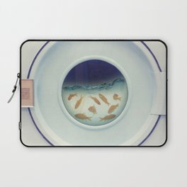 Tumbling goldfish Laptop Sleeve