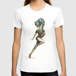 Lexi the Football Babe T-shirt