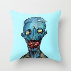 Blue Period Throw Pillow
