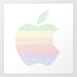 Big Apple Art Print
