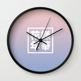 BTS + Pantone Wall Clock