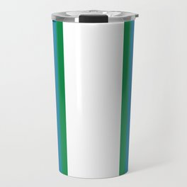 Retro Bright Rainbow - Straight Travel Mug