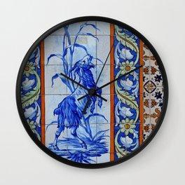 Goat Vintage Mosaic Tiles Wall Clock