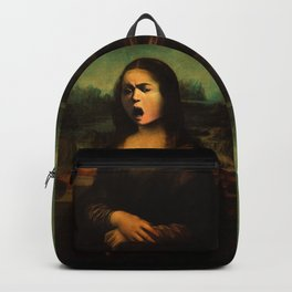 Caravaggio's Mona Lisa Backpack