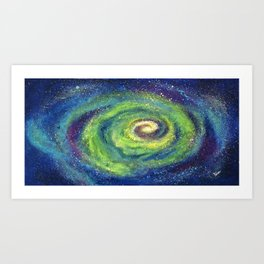 We Are The Light, Cosmic Series Art Print