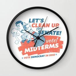 Clean Up the Senate Wall Clock
