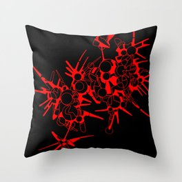 Piki-20 Throw Pillow