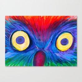 Surprised Owl  Canvas Print