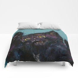 Ninja Kitten Comforters