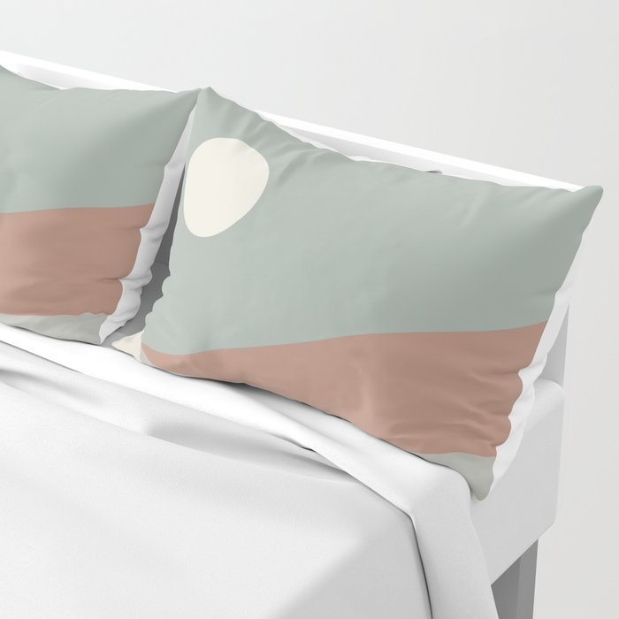 Geometric Landscape 03 Pillow Sham
