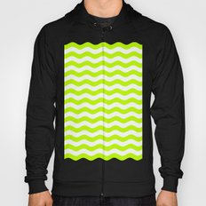 Wavy Stripes (Lime/White) Hoody