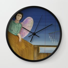 looking indifferent Wall Clock
