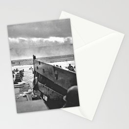 Omaha Beach Landing D Day Stationery Cards
