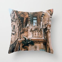 New Town Hall Munich Throw Pillow