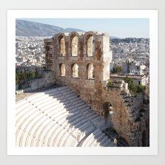 Acropolis Stadium Art Print