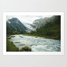 Norway IX Art Print