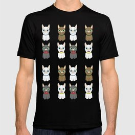 The Many Expressions of Dogs T-shirt