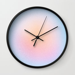 Sweet Sun Blush Wall Clock