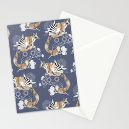 Numbats Blue Stationery Cards