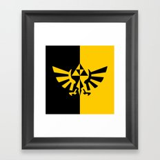 Legend Of Zelda Triforce Framed Art Print