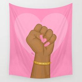 Black Lives Matter Power Fist Wall Tapestry