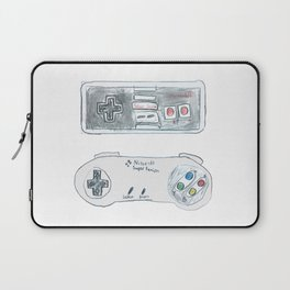 Old School Controllers Laptop Sleeve