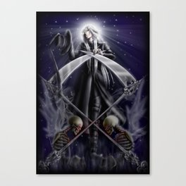 Saint Undertaker Canvas Print