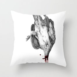 Voodoo Birds Throw Pillow