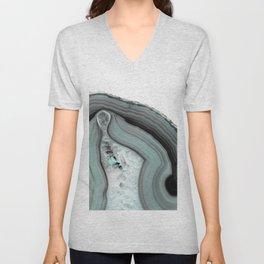 Glacial Agate Unisex V-Neck