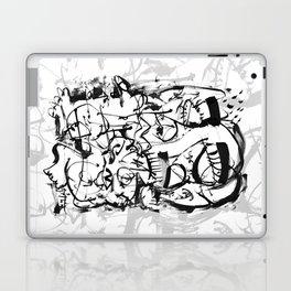 Hard Times - b&w Laptop & iPad Skin