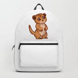 Cute Baby Meerkat Backpack