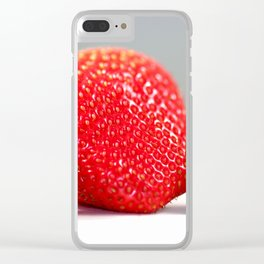 Strawberry Blackberry Clear iPhone Case