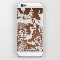 pocahontas iPhone & iPod Skins featuring pocahontas by Melissa F. Lund
