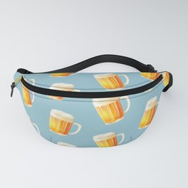Ice Cold Beer Pattern Fanny Pack