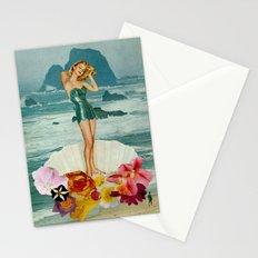 birth of venus Stationery Cards