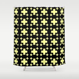 Jerusalem Cross 4 Shower Curtain