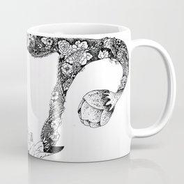 Anatomy Series: Uterus Flowers Coffee Mug